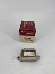 Prestolite Lord Handler 105-268 Voltage Regulator 9RC2040 Made in USA   NOS