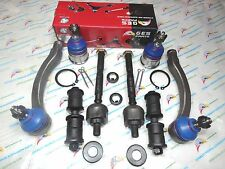 96-00 Honda Civic 2 Lower Ball Joint 4 Tie Rod Ends Inner & Outer Sway Bar Links
