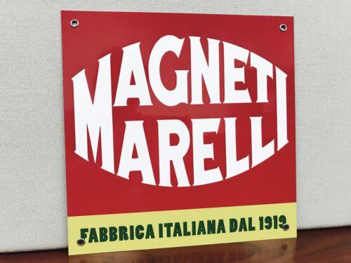 Mopar metal RED sign lancia Alfa Romeo Italian parts fiat