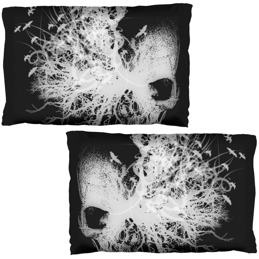 Ancient Nightmare Skull Pillow Case Set