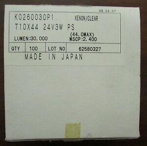 FESTOON K0260030P1 24V3W PS Xenon Clear Bulb T10X44 *PRICE PER BULB*