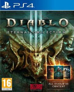 Diablo III Eternal Collection PS4 (Sony PlayStation 4, 2017) Brand New