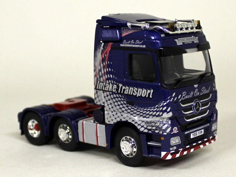 CORGI échelle 1 50 CC13830 Mercedes Benz Actros Intake transport Sheffield United