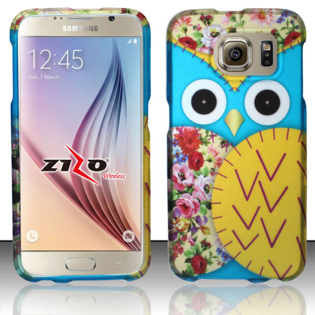 For Samsung Galaxy S6 Rubberized HARD Protector Case Phone Cover Accessory