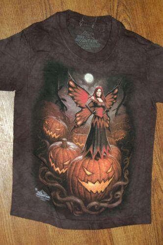 The Mountain Halloween Fairy Child Size Small Jack-O-Lantern Pumpkin T-Shirt