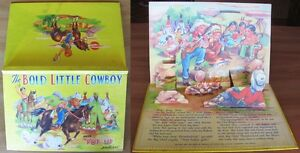 THE-BOLD-LITTLE-COWBOY-with-PO-UP-Pictures-Ed-Burnell-London-s-d-1970-80
