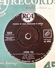 45rpm single - Elvis Presley with The Jordanaires - Loving You/Teddy Bear (VG)