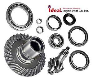 New-Rear-Differential-Ring-Pinion-Gear-Case-Set-Bearing-Yamaha-Rhino-660-04-07