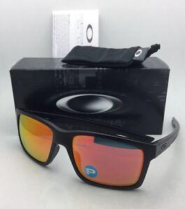 e44887741e3 Image is loading Polarized-OAKLEY-Sunglasses-MAINLINK-OO9264-07-Matte-Black-