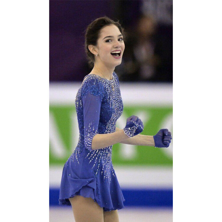 Girls Women  Ice Skating Dress  Competition Ice Figure Skating Dress A628  low prices