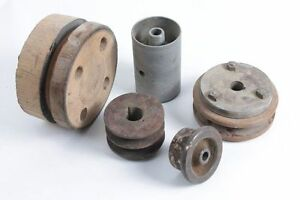 Convolute-An-Old-GDR-Pulleys-Strap-Disc-Set