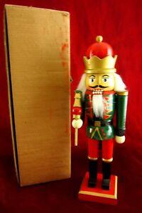 schoener-Nussknacker-Soldat-Figur-Holz-handbemalt-Weihnachten-25-cm-Advent-in-OVP