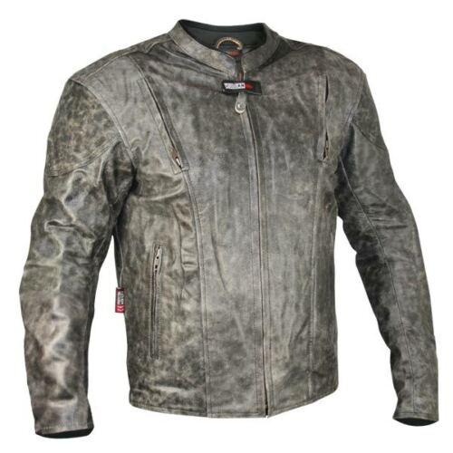 pour vieilli moto cuir homme de Nf en Vulcan marron Veste 8150 q7vEfwgx