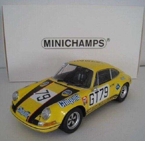 Porsche 911 S 1000 HM NURBURGRING 1971 MINICHAMPS 1 18 Nouveau neuf dans sa boîte