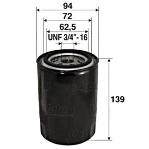 VALEO Oil Filter For AUDI VW A4 Avant A6 Cabriolet Passat 4A 4B 8D 8G 1257492
