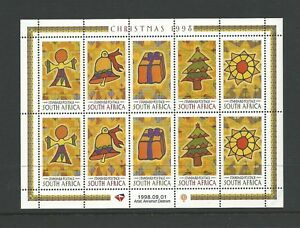 1998-Christmas-Mini-Sheet-MUH-MNH-As-Issued-Value-Here
