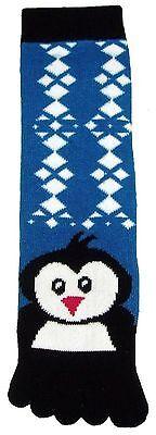 Penguin (TS013) Toe Socks New Gift Fun Unique Cute