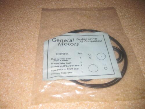 A//C A6 Compressor Gasket  Seal Kit GM A-6