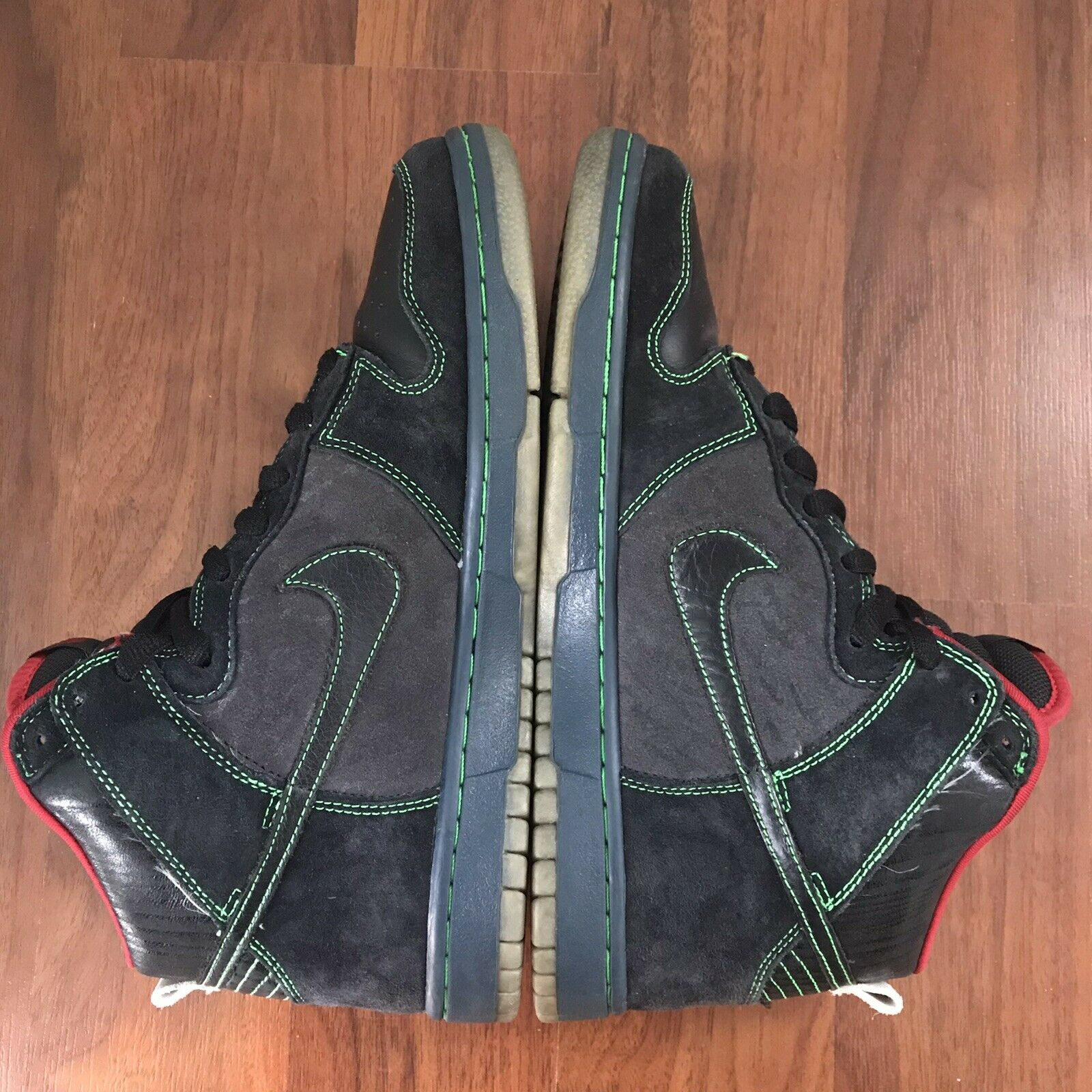 Nike SB Dunk High Twin Peaks Size 9.5 Night Owl - image 4