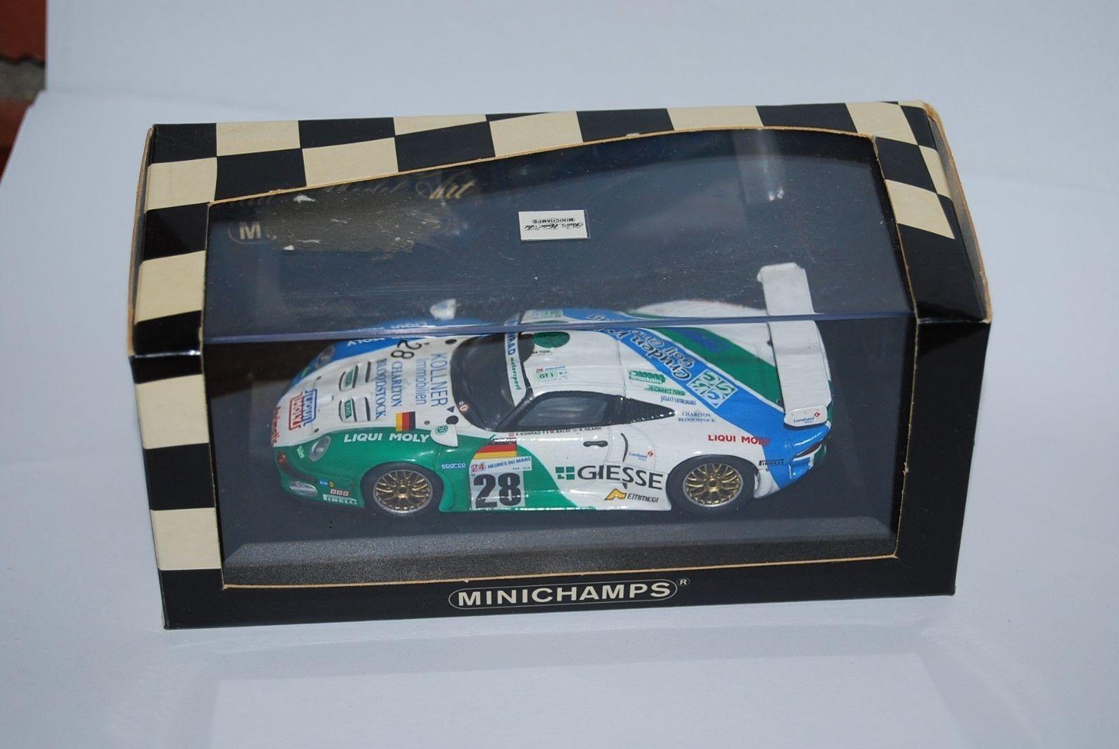 MINICHAMPS MINICHAMPS MINICHAMPS PORSCHE REF 430976628 RARE NEUF BOITE NEW BOX 1 43 c1d881
