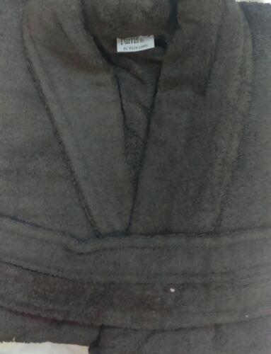 Homme Grand XL gratuit taille Gris anthracite Terry 100/% Coton Peignoir 500GSM