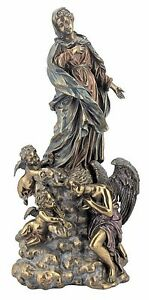 Madonna-With-Angels-Statue-Catholic-Virgin-Mary-13-034-tall-Veronese-Collection