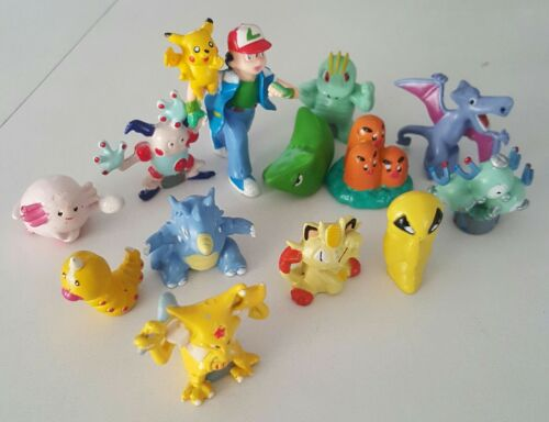 12 Pcs Pokemon Mini Pearl Figures New Hard to find Children Toy U.S seller.