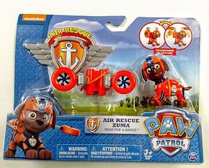 Image Is Loading Paw Patrol Air Rescue Zuma Pack Pup Amp