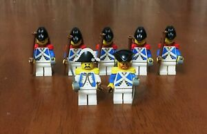 LEGO-PIRATES-IMPERIALS-Army-Builder-Lot-2-Minifig-Admiral-Sentry-Guard-Soldier