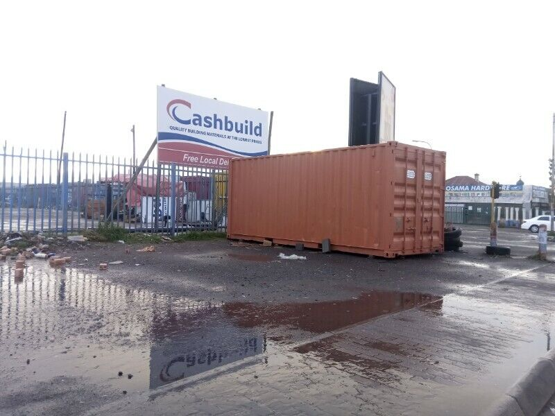 6m x  2.4m Storage Container Monthly Rental East London
