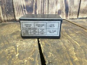 [DIAGRAM_09CH]  1999-2001 Victory V92 V92C Deluxe Relay Fuse Box Cover | eBay | Victory Fuse Box |  | eBay