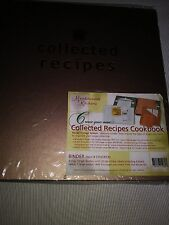 HTF Meadowsweet Kitchens Collected Recipes Binder W/12 Dividers/1 Lg  Pocket MIOP