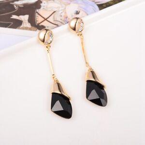 Women-Fashion-Jewelry-Lady-Elegant-Crystal-Rhinestone-Dangle-Ear-Stud-Earrings