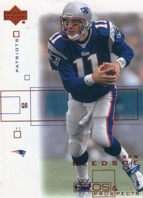 2001 Upper Deck Pros & Prospects Drew Bledsoe #52 Mint