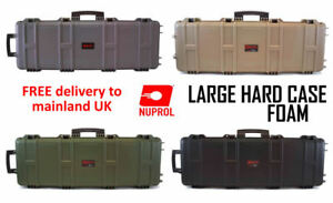NUPROL-Large-Hard-Case-Airsoft-Rifle-Storage-PNP-WAVE-Foam-ABS-PLASTIC-BB