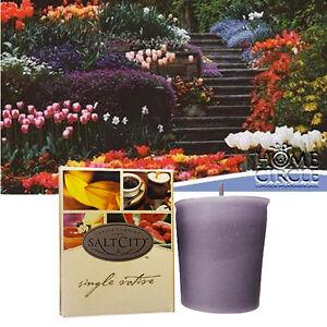 Salt City Apple Cinnamon Fragrance Fragrant Scent Votive Small Candle 10-15 Hrs
