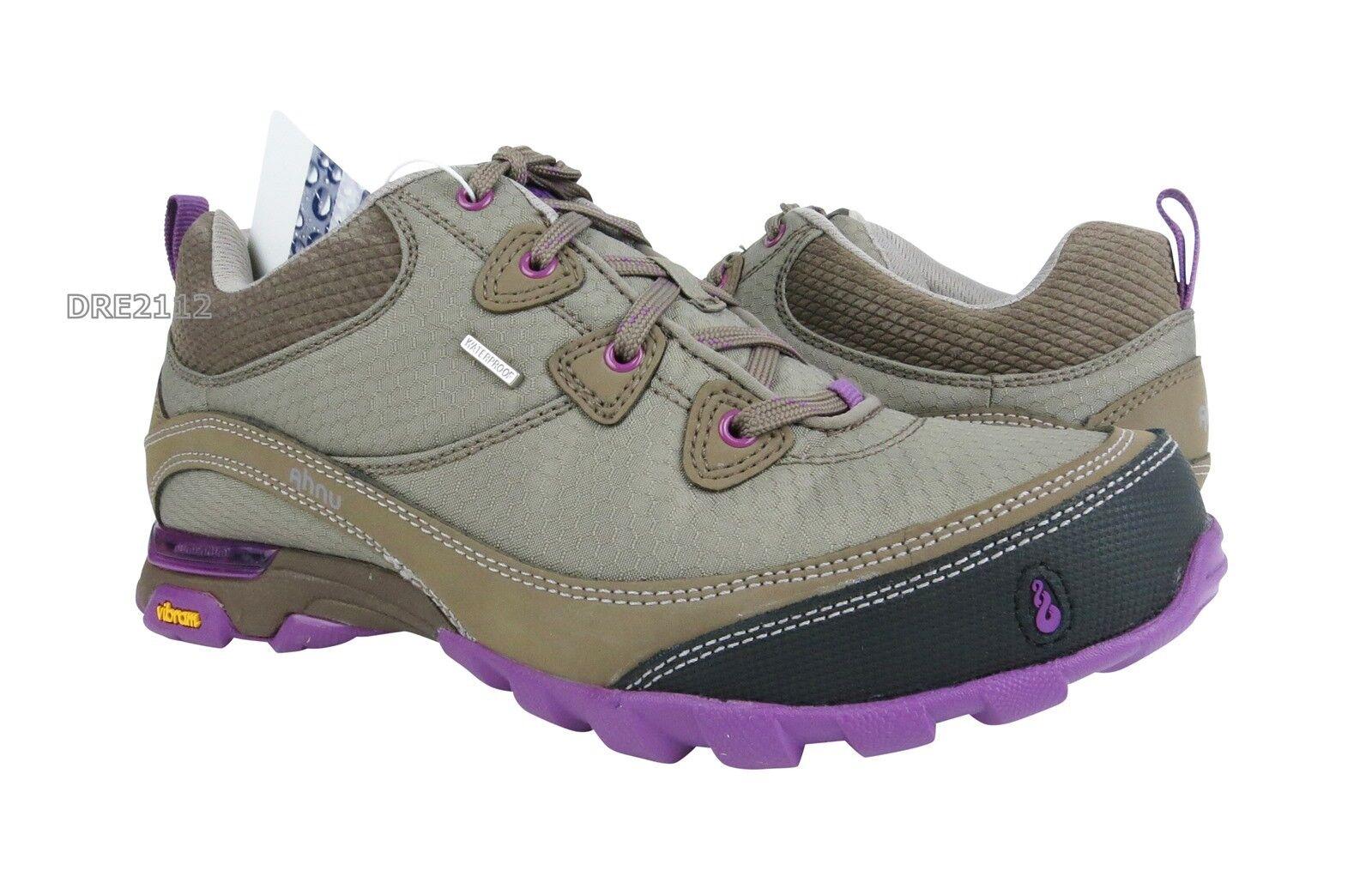 Ahnu Sugarpine Waterproof Alder Bark Hiking Schuhes Damenschuhe Größe 7 NIB