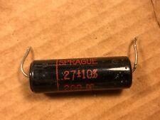 NOS Sprague Black Beauty Capacitor .04 MFD uf 600V 160P Guitar Tone Amp .047