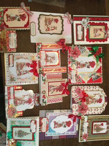 Toppers Kanban Noël Holly Hobbie Joy Fabrication Carte Kit carte H5