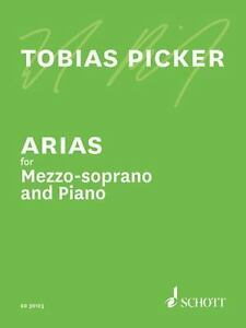 Arias for Mezzo-Soprano and Piano NEW Schott 049044097