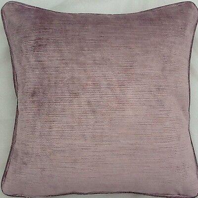 A 18 Inch cushion cover in Laura Ashley Elmore Silver fabric