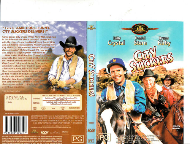 City Slickers 1991 Billy Crystal Movie Dvd For Sale Online