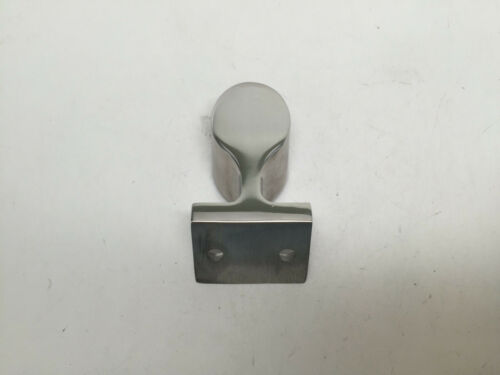 """MARINE BOAT DURABLE STANCHION HAND RAIL FITTING SS 316 120 DEG END 7//8/"""" 22.2MM"""