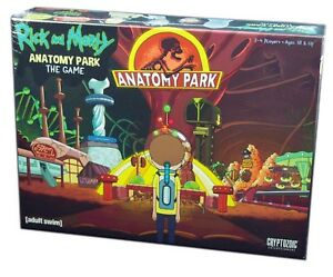Cryptozoic-Games-Rick-and-Morty-Anatomy-Park-The-Board-Game-New-and-Sealed