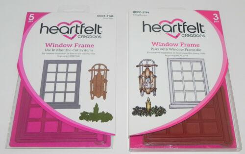 HEARTFELT CREATIONS CLING STAMP /& DIES SETS ANCHOR WINDOW WILDWOOD CONEFLOWER