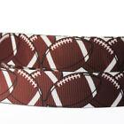 "7//8/""22mm Purple/&Black Pattern Grosgrain Ribbon 10//100 Yards Hairbow Wholesale"