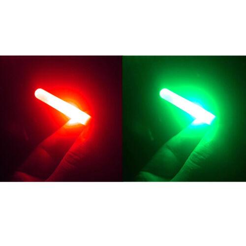 1stück nachtfischen elektronische licht angelrute glow stick wasserdicht lamWR