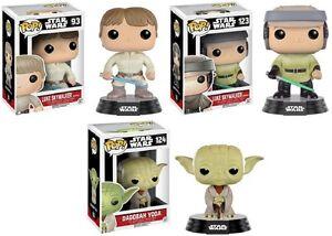 Luke Skywalker Endor 3 Figuren Mit Traditionellen Methoden Funko Pop Star Wars Dagobah Yoda Bespin
