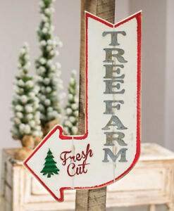 Fresh Cut Christmas Trees Sign.Details About Lg 2 Ft Christmas Tree Farm Fresh Cut Door Wall Sign Wood Green Metal Farmhouse