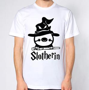 Slitherin Sloth T-Shirt Hogwartz Parody